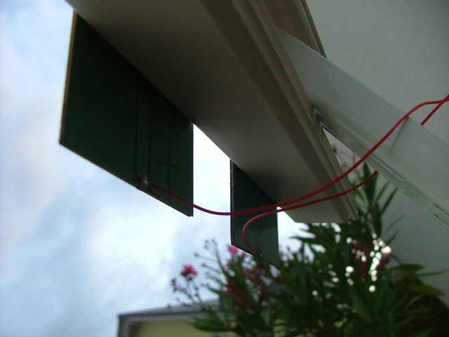 wenn kabel durchgebohrt wurde